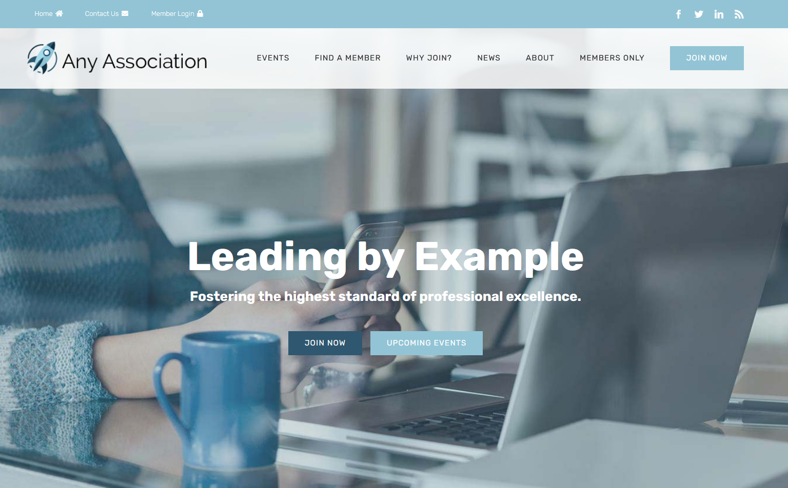 Membee Software - One of Membee Complete's Website Designs