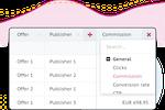 Circlewise screenshot: Circlewise commission tracking
