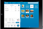 Capture d'écran pour Revel Systems : Revel POS on iPad in use in a restaurant
