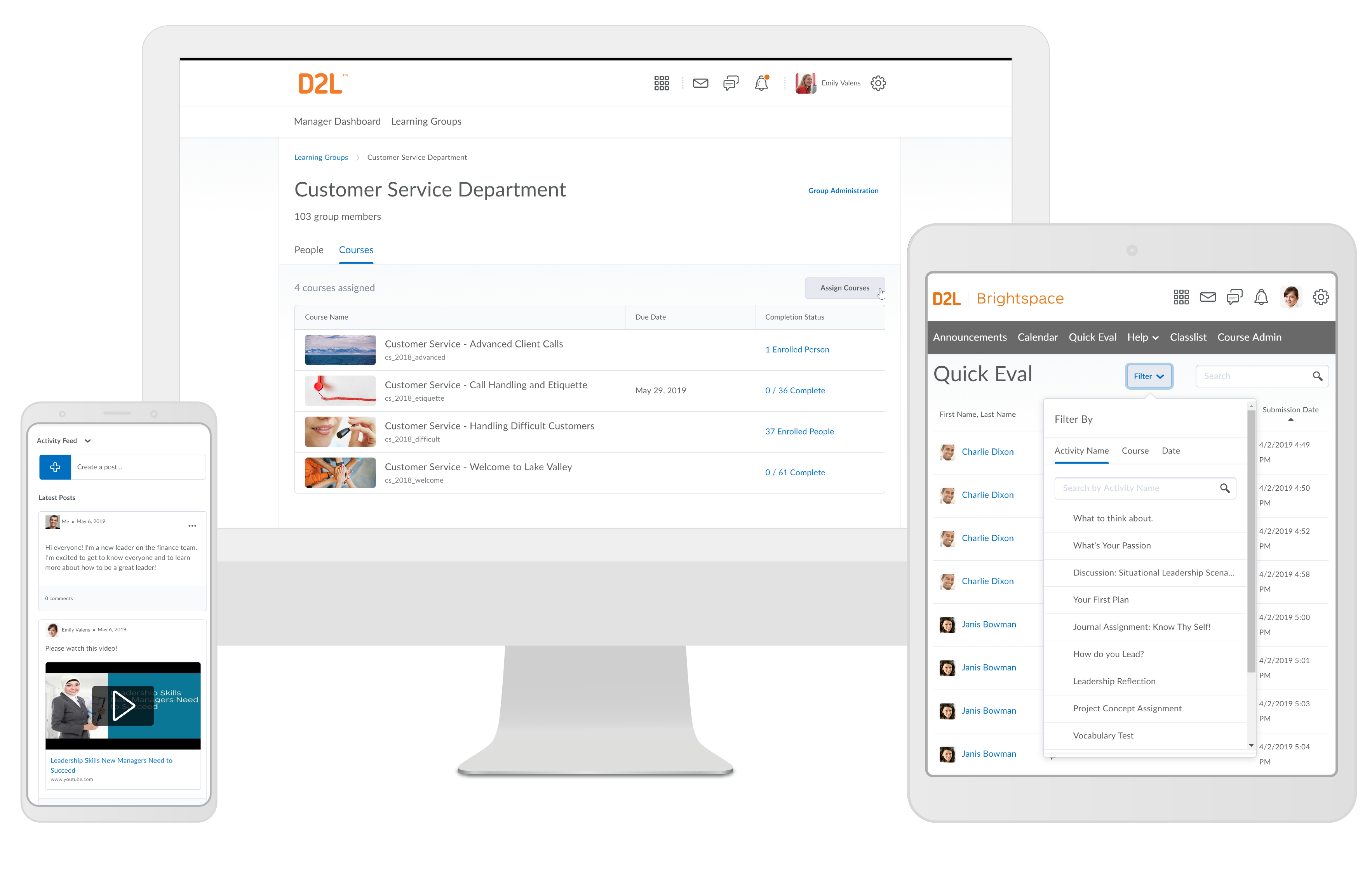 Brightspace Software - Brightspace corporate learning platform