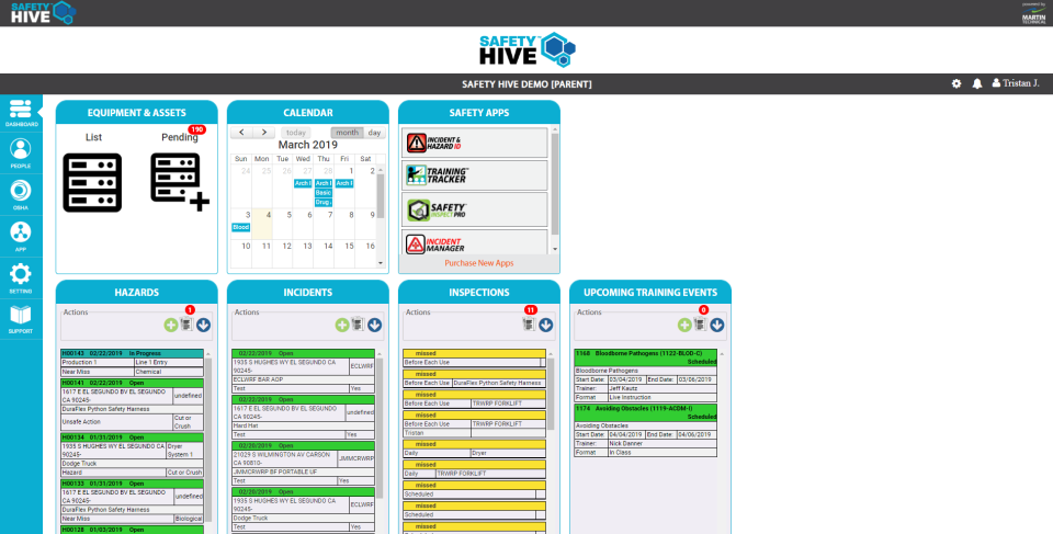 Safety Hive Suite Software - 3