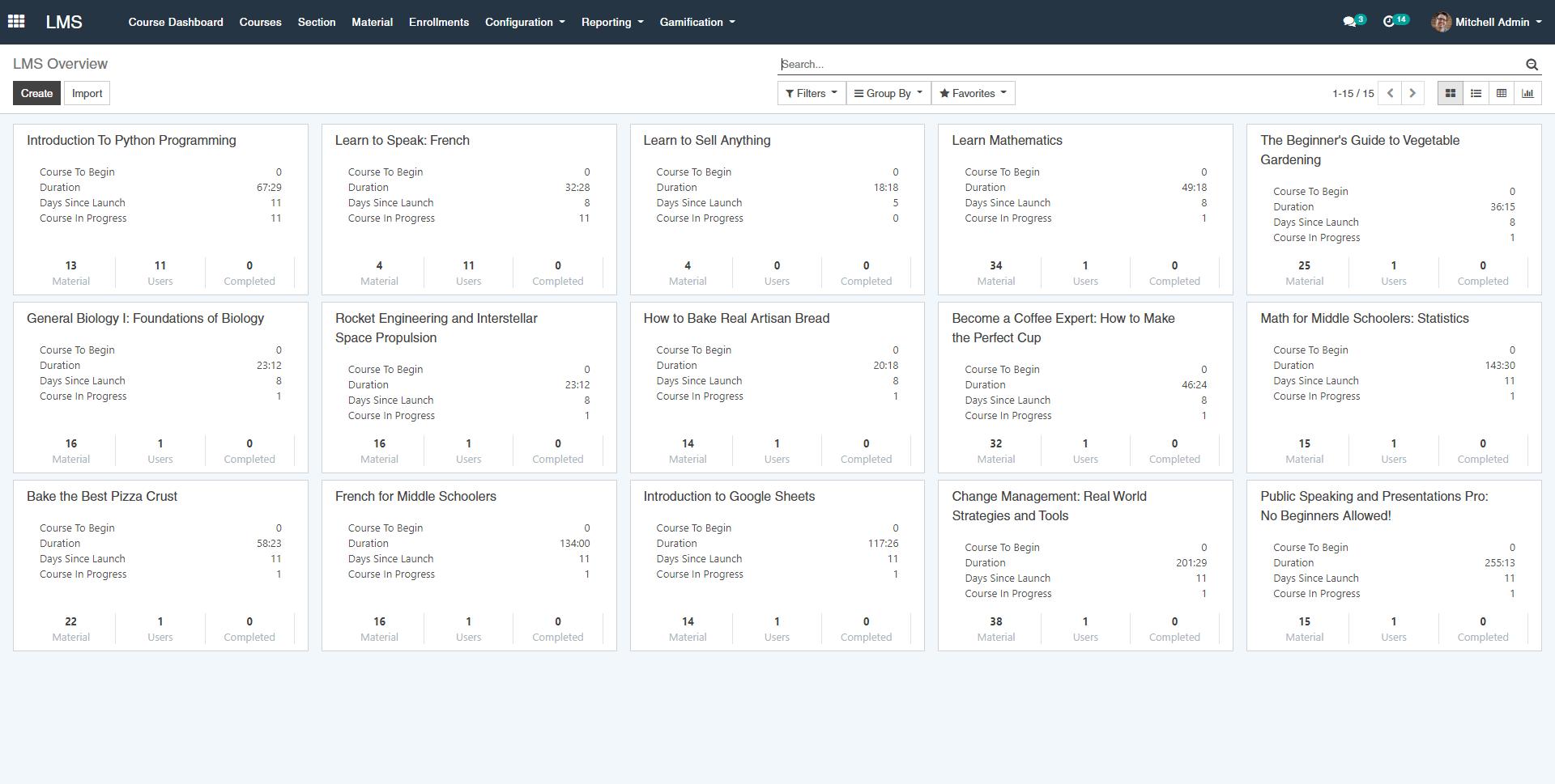 OpenEduCat Software - LMS