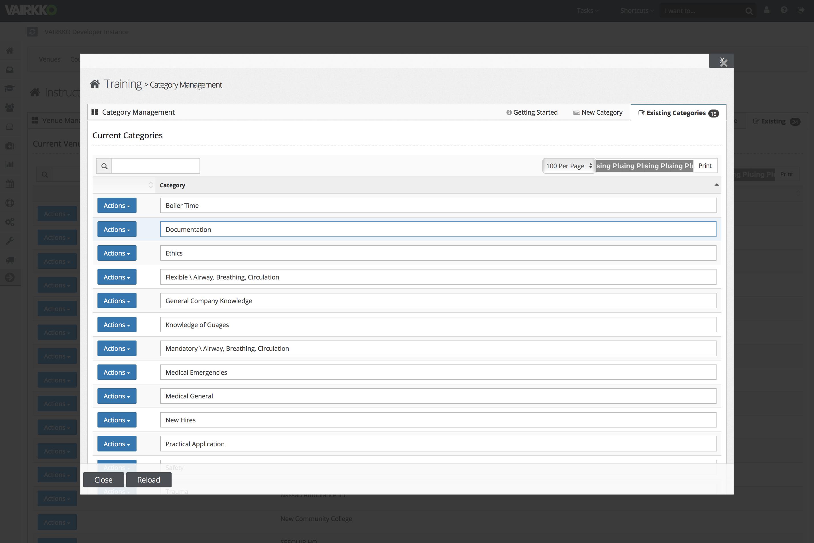 VAIRKKO Suite Software - VAIRKKO Suite category management