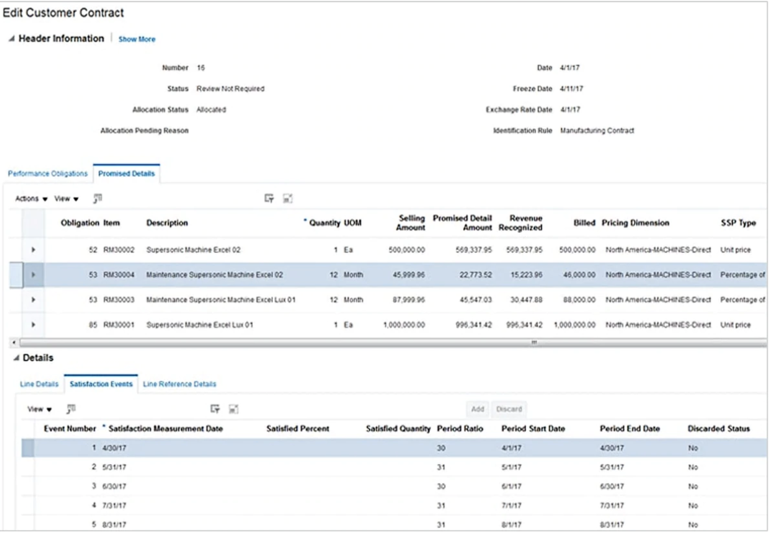 Oracle Financials Cloud contract management