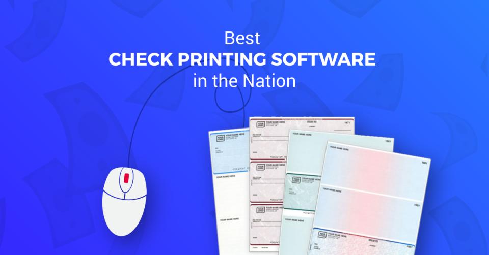 Online Check Writer Software - 4