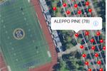 Capture d'écran pour ArborNote : ArborNote maps