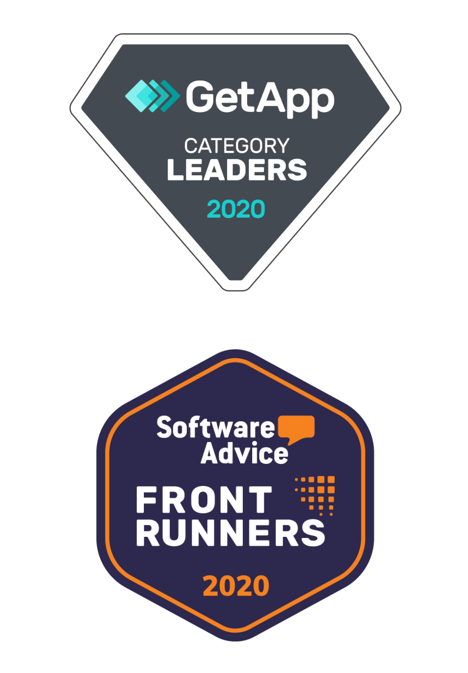 Awards from GetApp and Software Advice