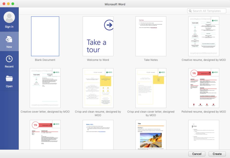Office 365 Microsoft Word