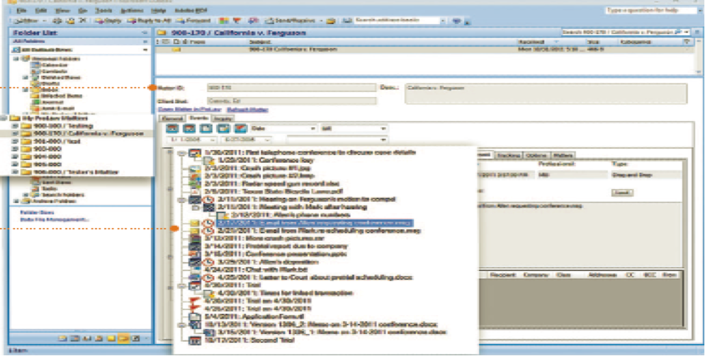 ProLaw Microsoft Outlook integration