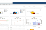 UniPhi screenshot: Generate summary, time or submission reports & visualize data