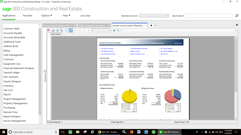 Sage 300 Construction and Real Estate Software - 1