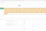 Convoso screenshot: Admin panel: customizable lead form field layout