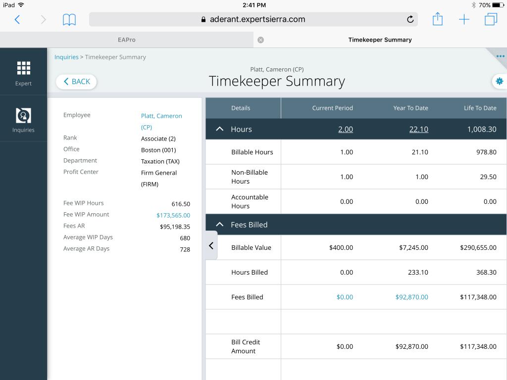 Expert Sierra timekeeper screenshot