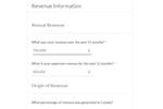 BluInsurance screenshot: BluInsurance online intake form