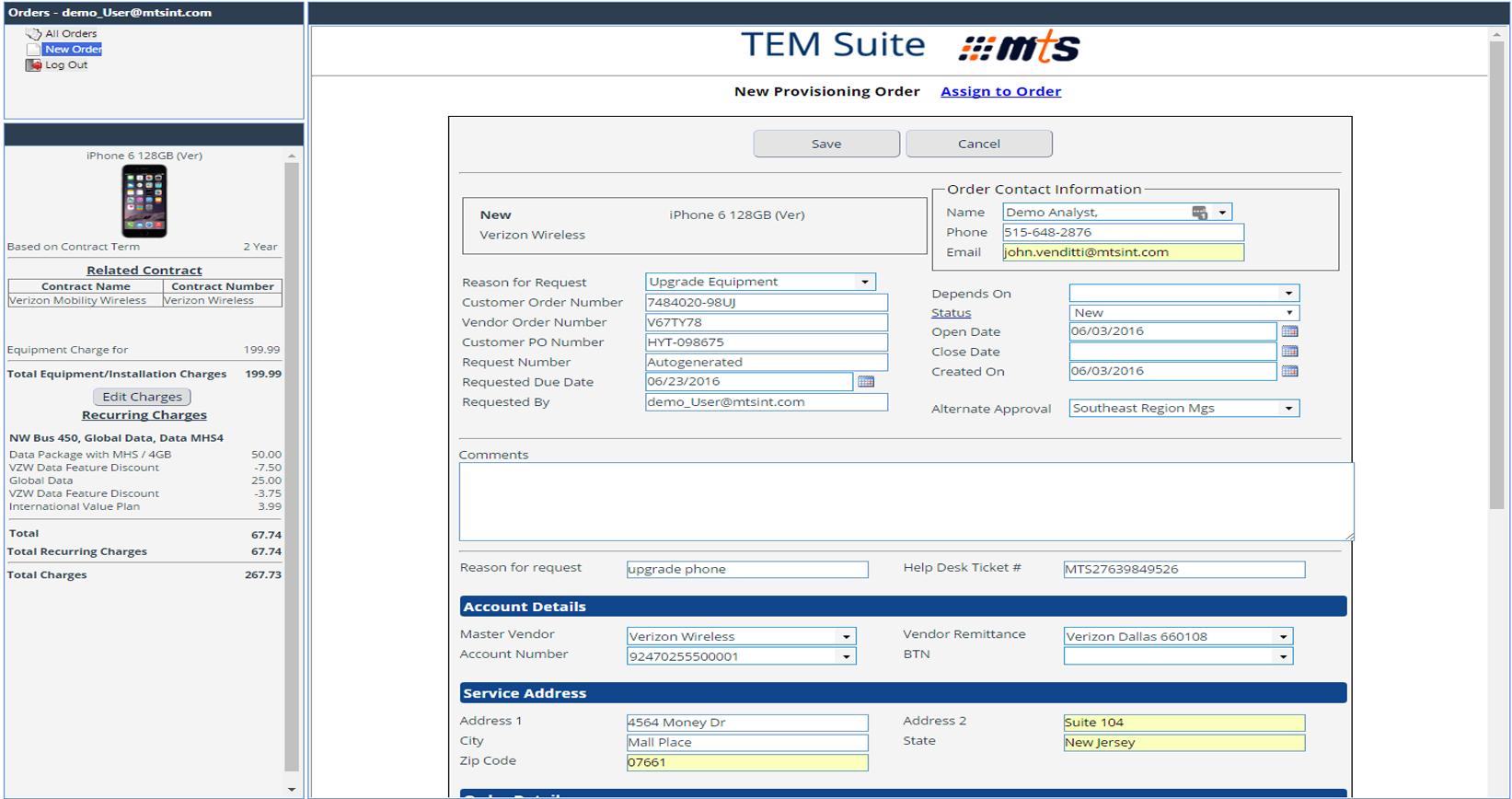 eXsight Software - Procurement management