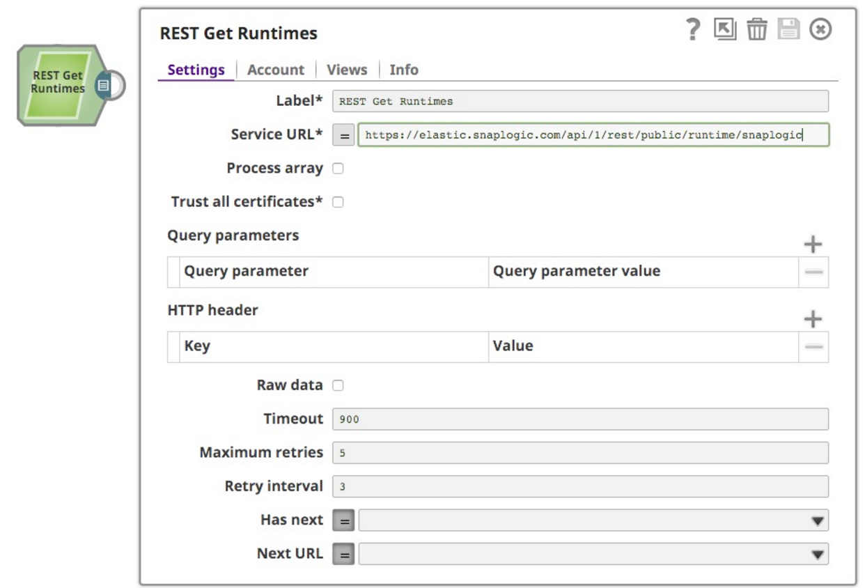 SnapLogic Software - Runtimes