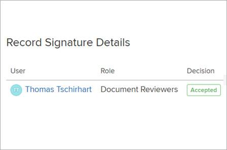 Adaptive Compliance Engine (ACE) digital signatures