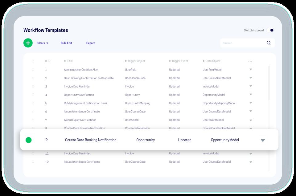 accessplanit Software - accessplanit workflows