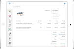 Dispatch screenshot: Email estimates and invoices, and let field workers accept credit cards on the spot