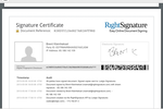 Lodgix Screenshot: Lodgix includes digital signature functionality, allowing guests to sign rental agreements without the need for printing and mailing