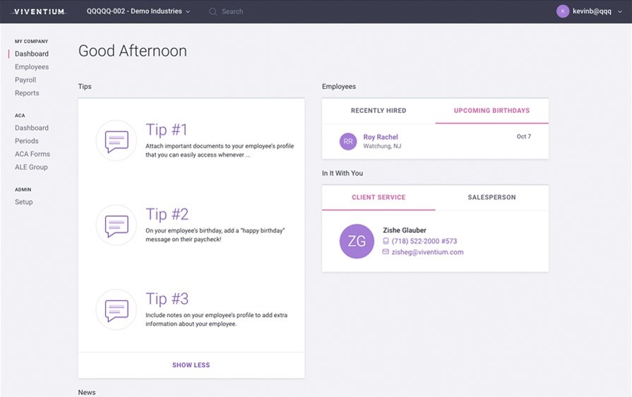 Real-time tips are offered to improve workflow & operations