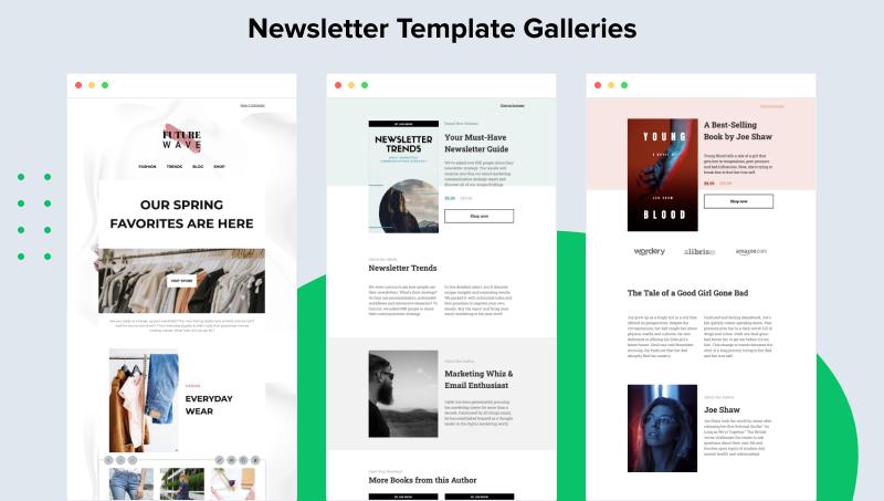MailerLite Software - Newsletter Template