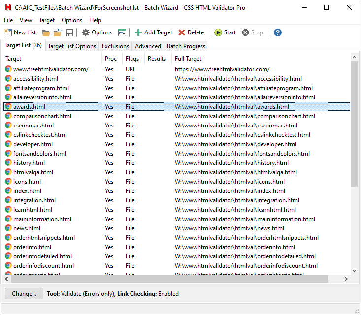 CSS HTML Validator Software - 3