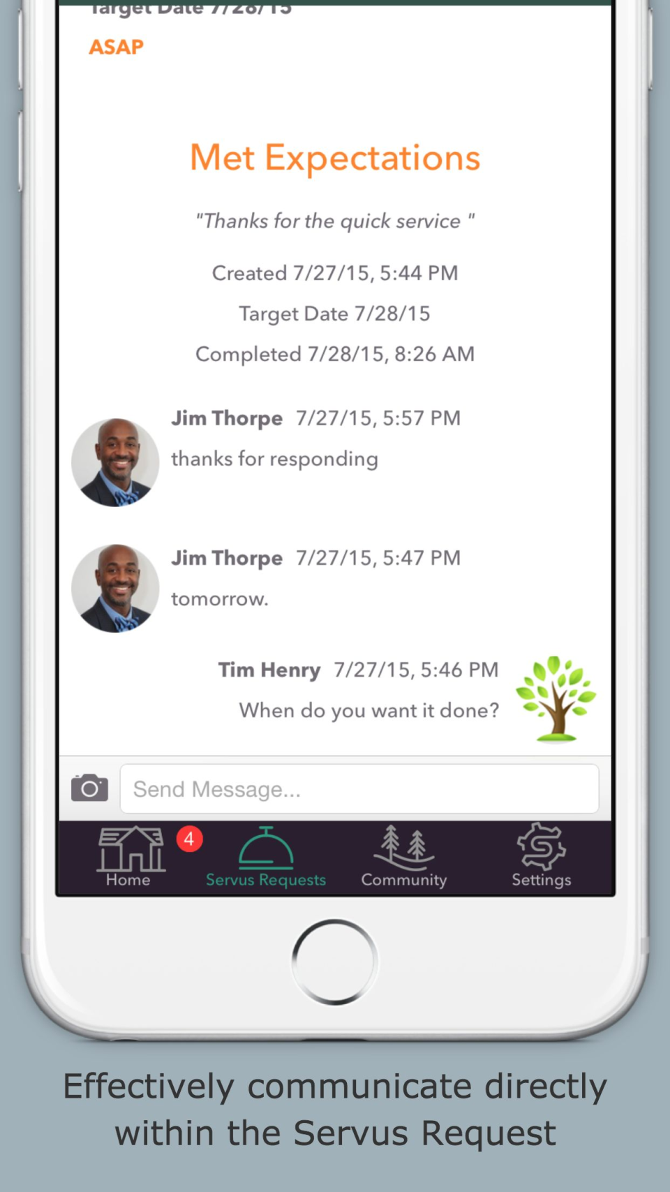 Servus Mobile Chat