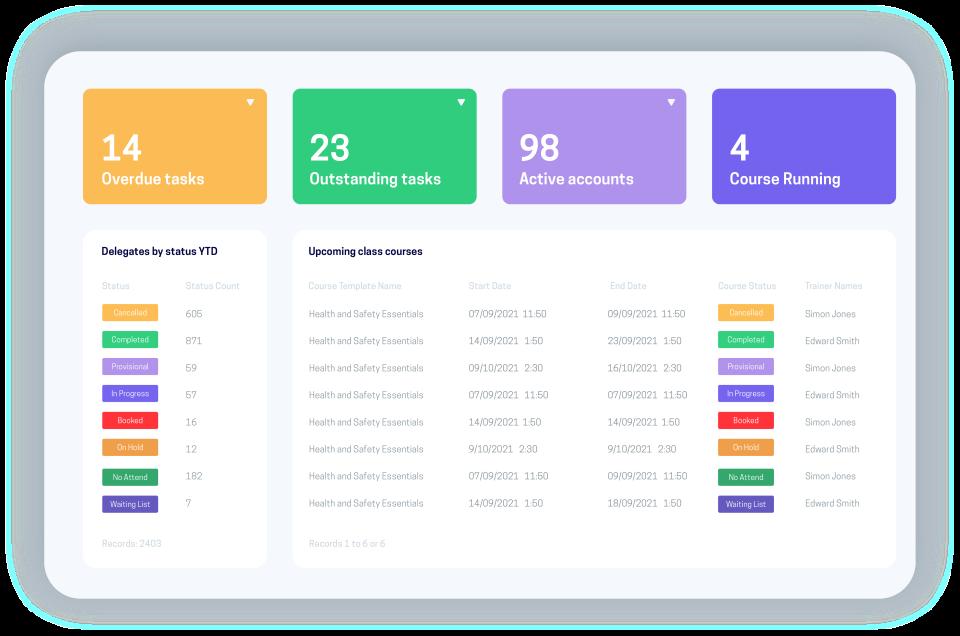 accessplanit Software - accessplanit dashboard