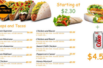 Mango Signs screenshot: Create and display digital menu boards for any establishment with Mango Signs
