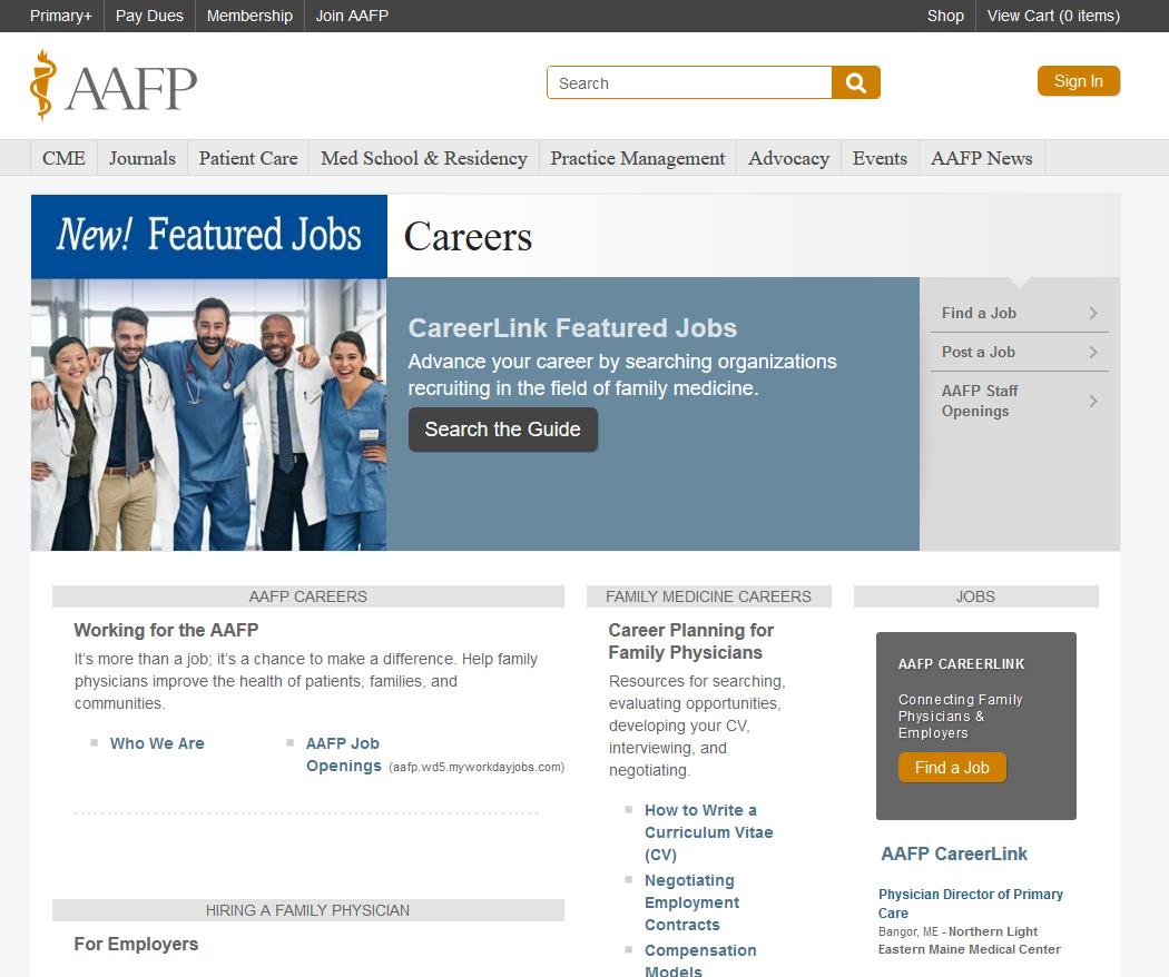 YM Careers career page