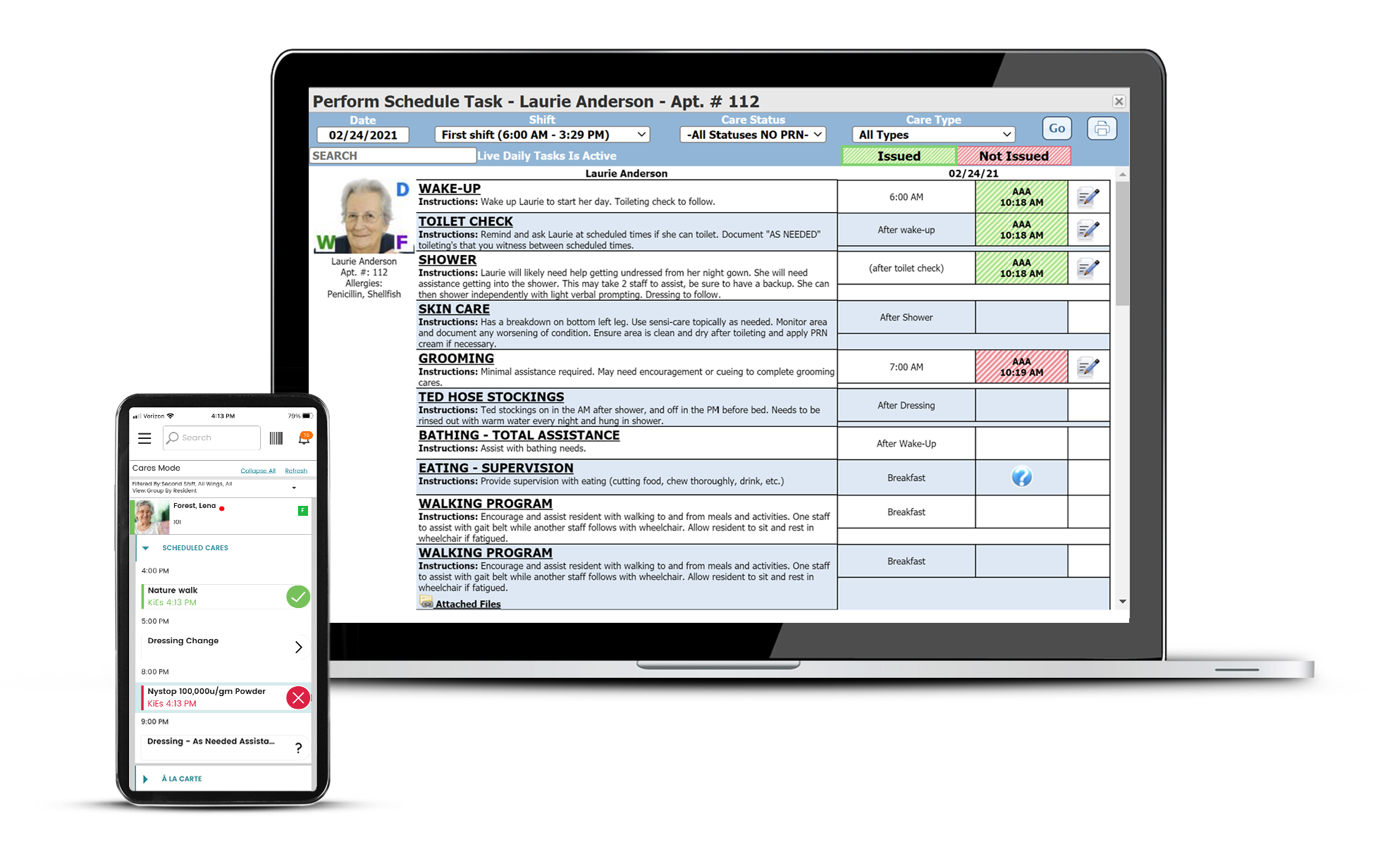 ECP EHR helps senior living communities enhance clinical care, reduce turnover, reduce citations, and improve compliance.