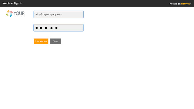 Webinato screenshot: The SSO API lets users integrate Webinato into their own website or protected members area