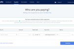Plooto screenshot: Plooto Manual Payment | Have the ability to make manual payments without having to sync to an accounting software