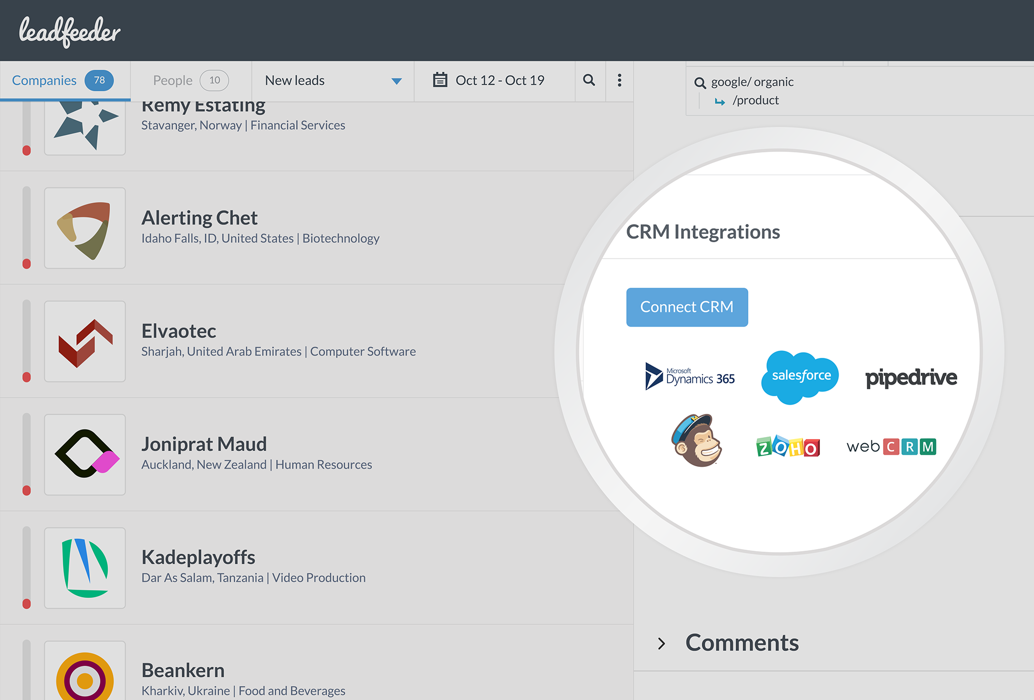Integrate with the CRM and marketing automation tools you already use.