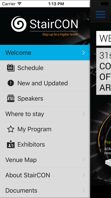 Attendees can access event schedules, speaker details, and other important information through the event app and website
