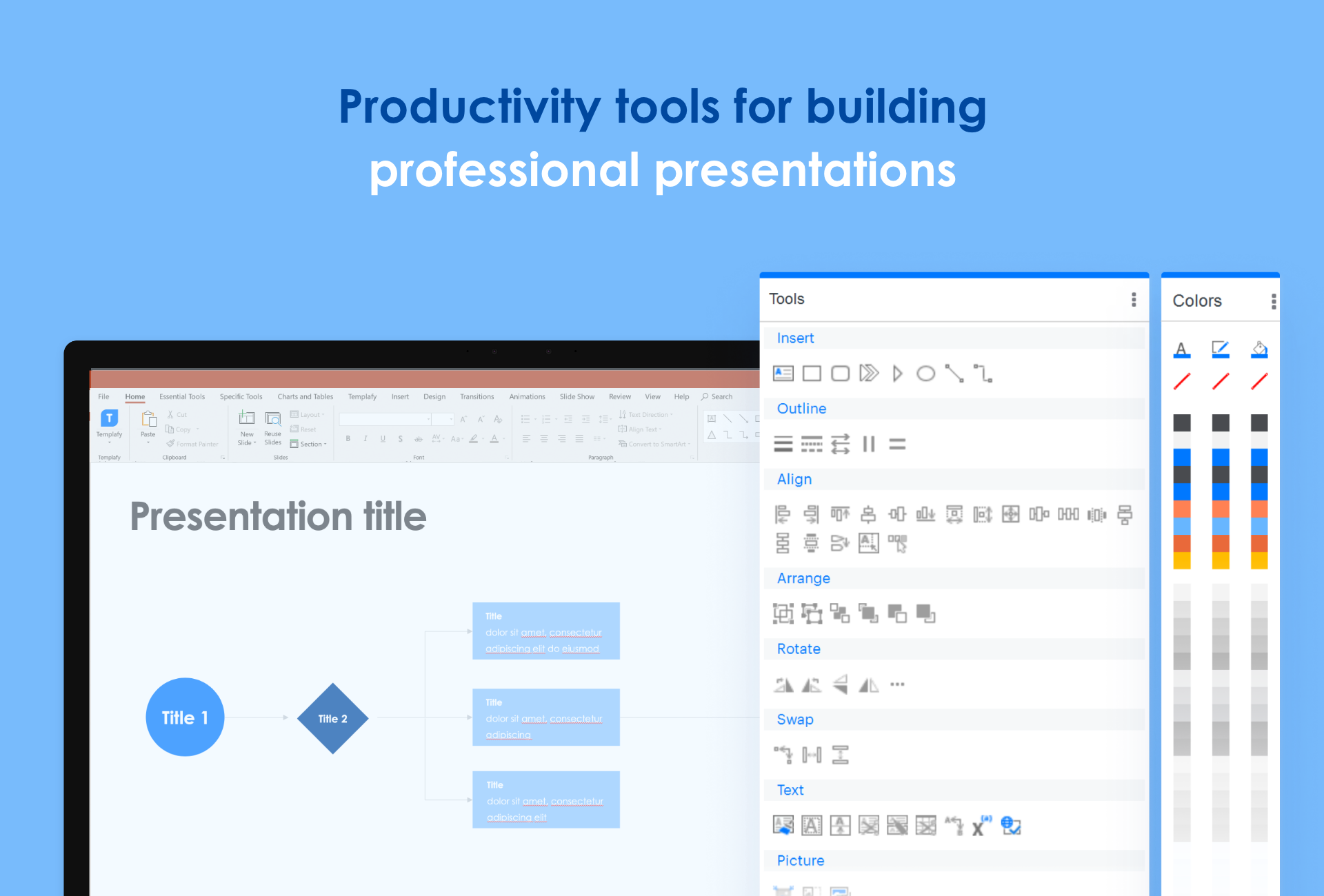 The Check and ProductivityPlus tools ensure faster edits, up-to-date content, layout and format every time.