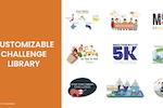 Wellable screenshot: Wellable challenge library