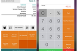 Slurp! screenshot: Add discounts and manage payments at checkout