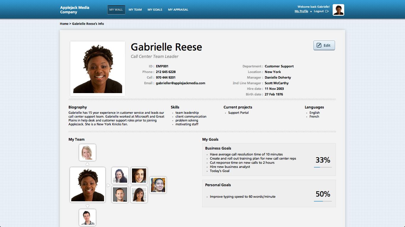 Kapta Employee Profile