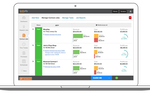 Knowify screenshot: Get real-time information about job profitability and work in progress.