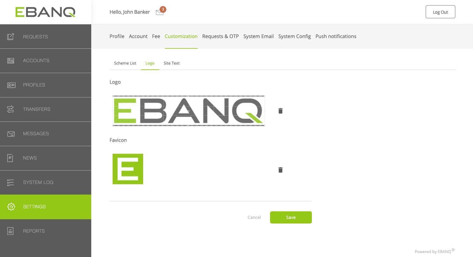 EBANQ Software - EBANQ logo