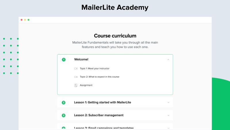 MailerLite Software - 4