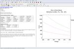 Statgraphics Centurion screenshot: Statgraphics Centurion report builder