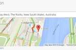 Call of Service screenshot: Call of Service integrates with Google Maps