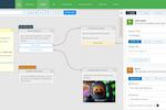 Xenioo screenshot: Xenioo chatbot editor