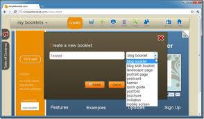 simplebooklet screenshot
