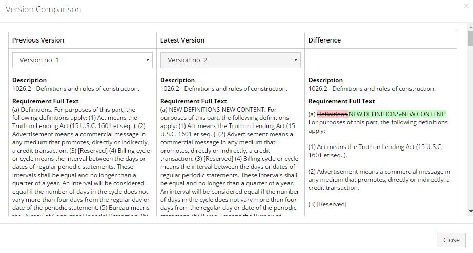 Predict360 Software - Version control