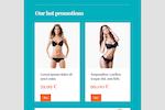 FreshMail screenshot: Indusia Newsletter Template
