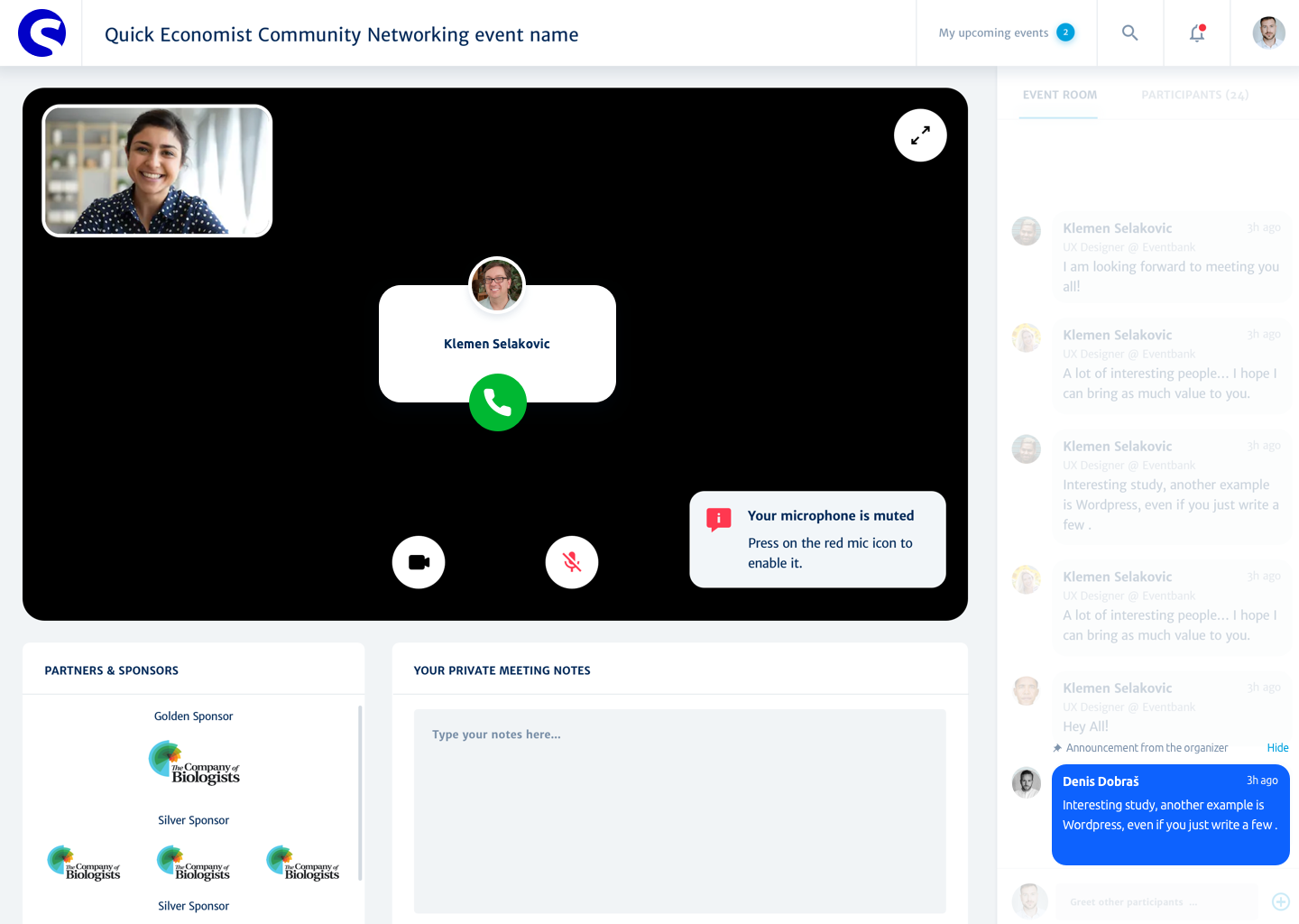 Glue Up Software - Make valuable connections via Speed Networking even during COVID pandemic.